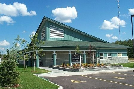 This is a picture of the Dubreuilville Clinic.